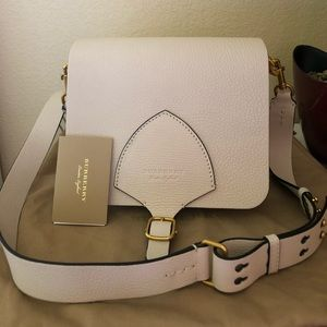Brand new--Burberry square leather shoulder bag